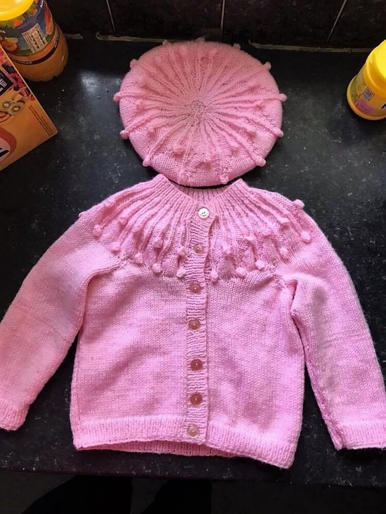 Crochet Shirt with Hat