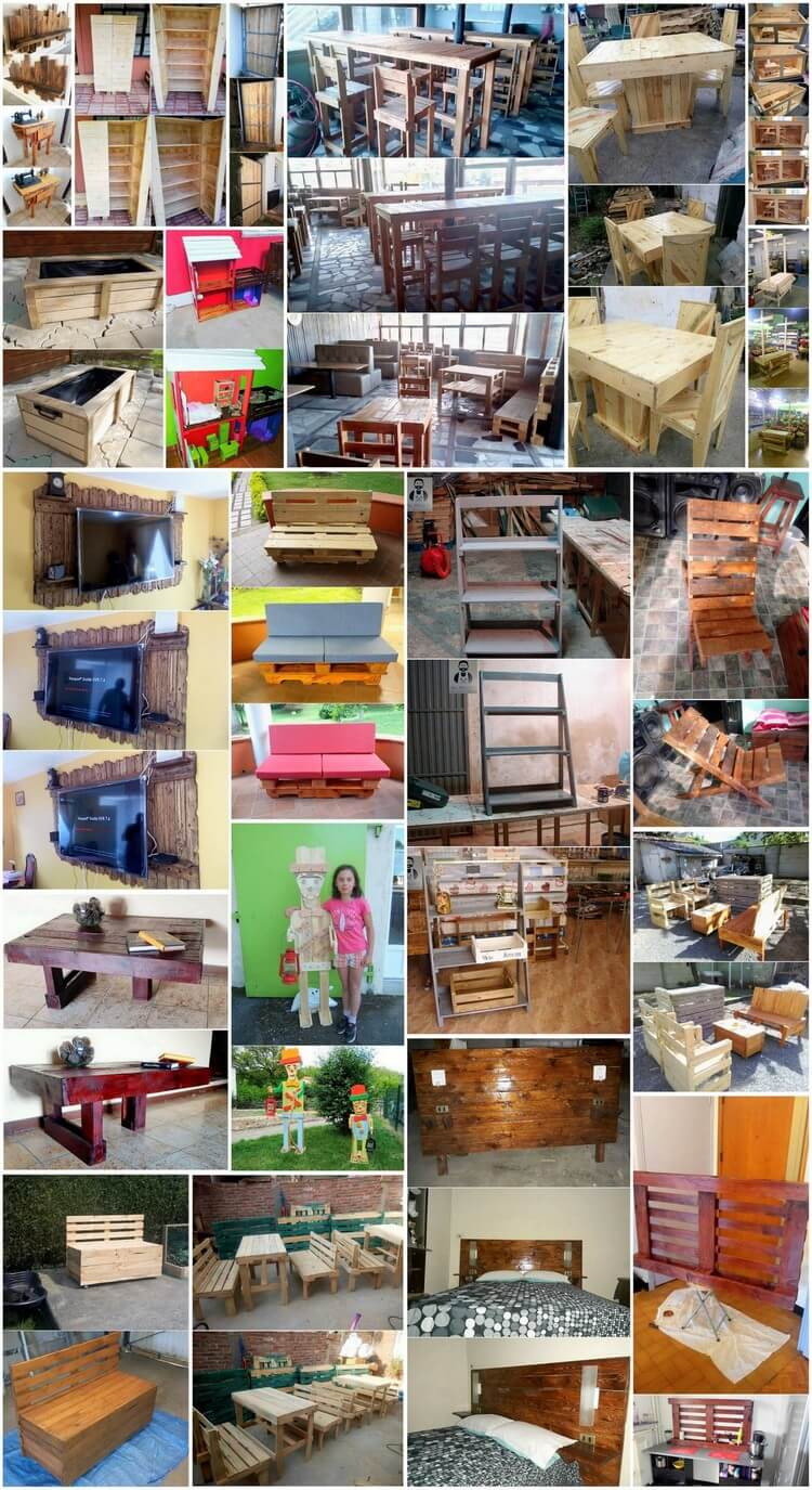 Delightful Wood Pallet DIY Recycling Ideas