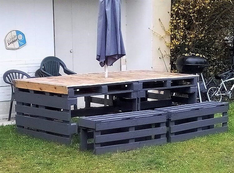 Pallet Garden Dining Furniture