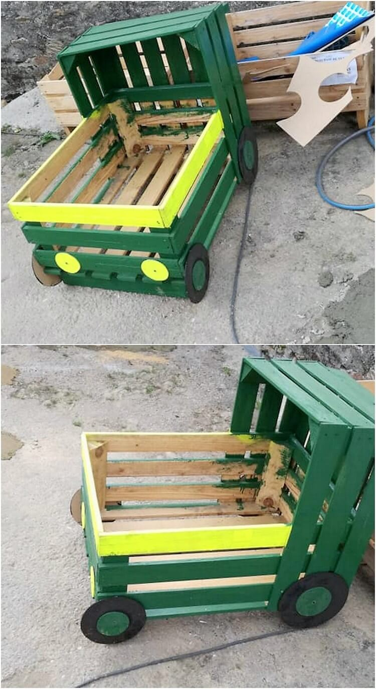 Pallet Train Engine