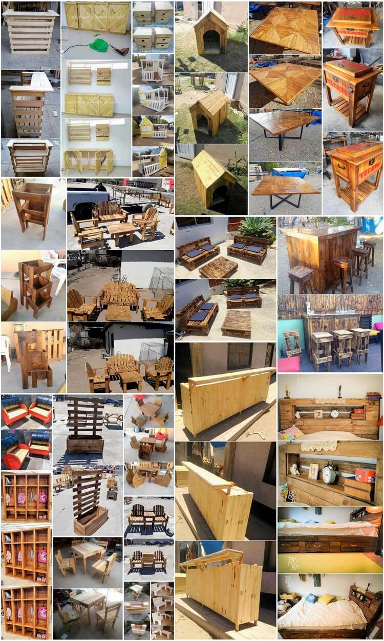 Creative Ideas for Recycling Used Wood Pallets