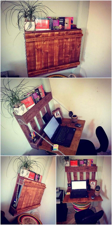 Pallet Desk or Laptop Table