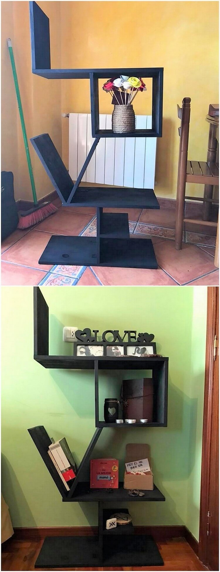 Pallet LOVE Shelves