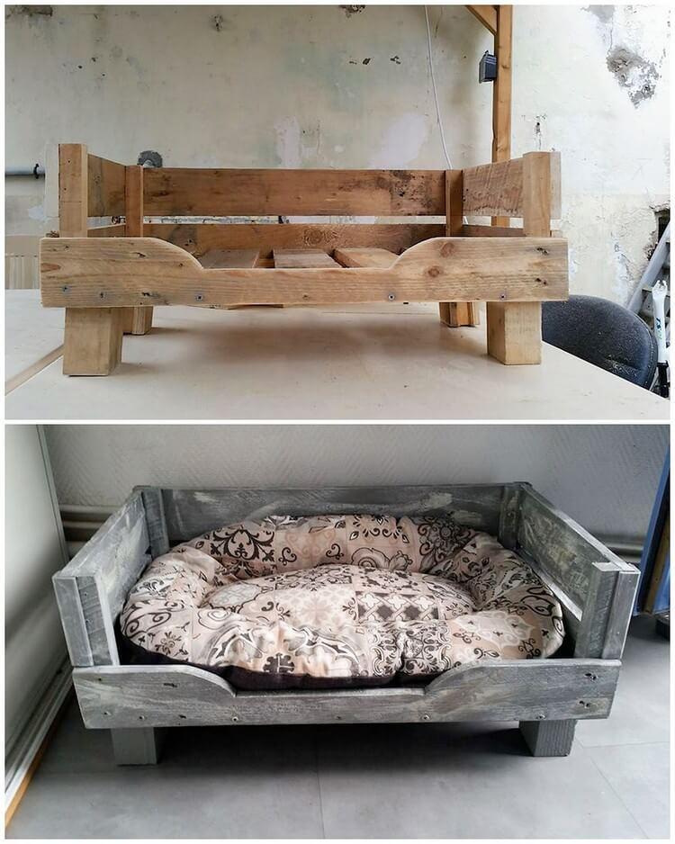 Pallet Pet Bed