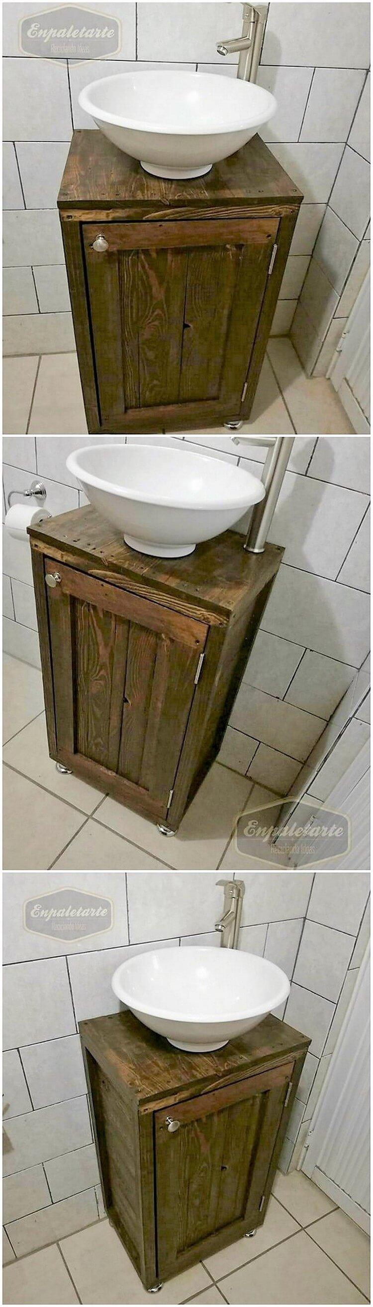 Pallet Sink Creation