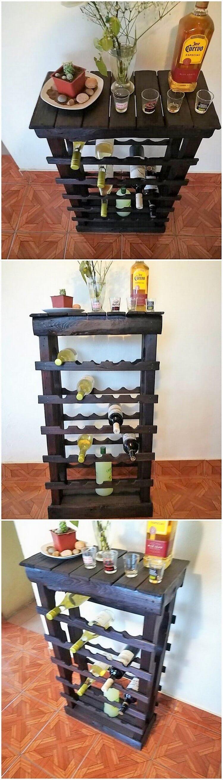Pallet Wine Rack or Table