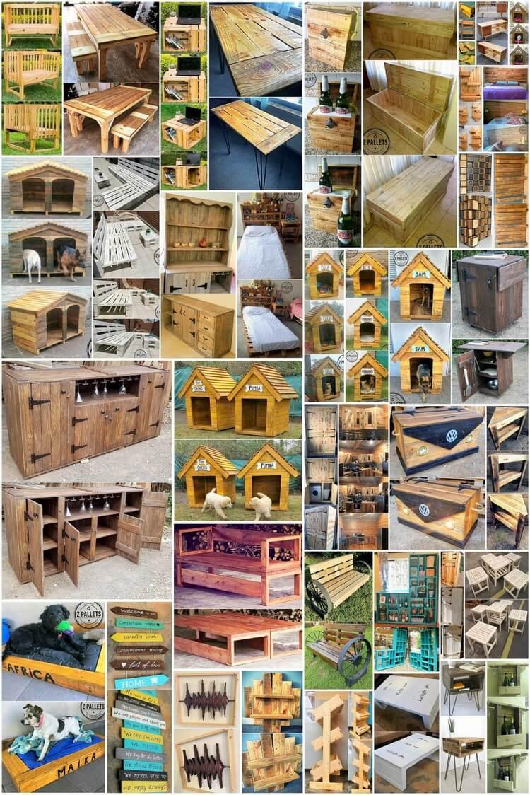 40+ Impressive DIY Pallet Ideas You Can Make