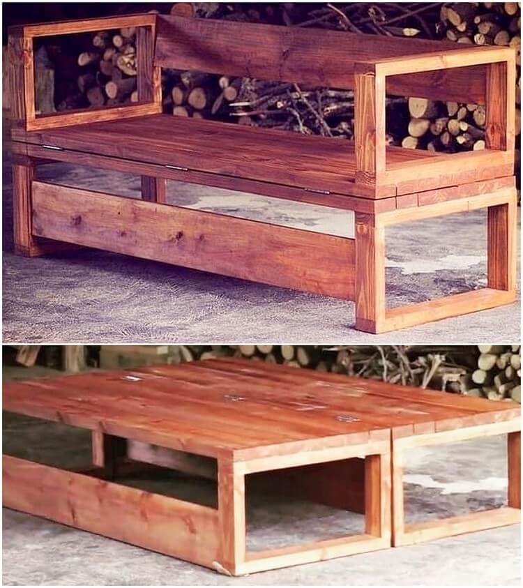 Pallet Bench or Table