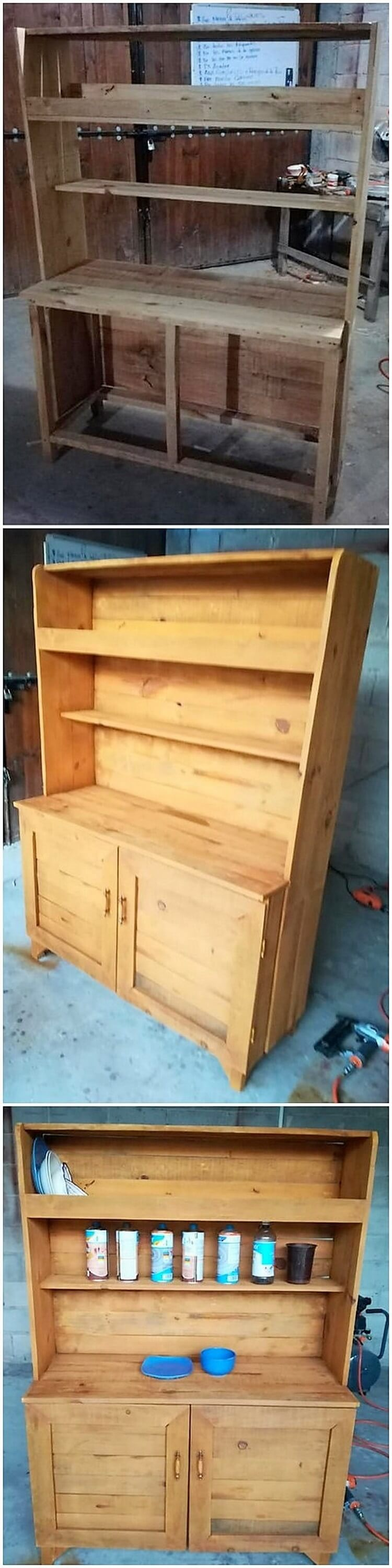 Pallet Cabinet or Cupboard
