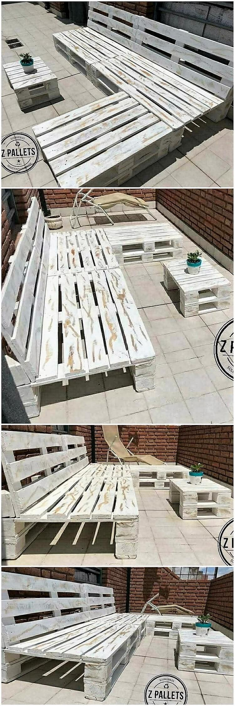 Pallet Outdoor Bench or Couch