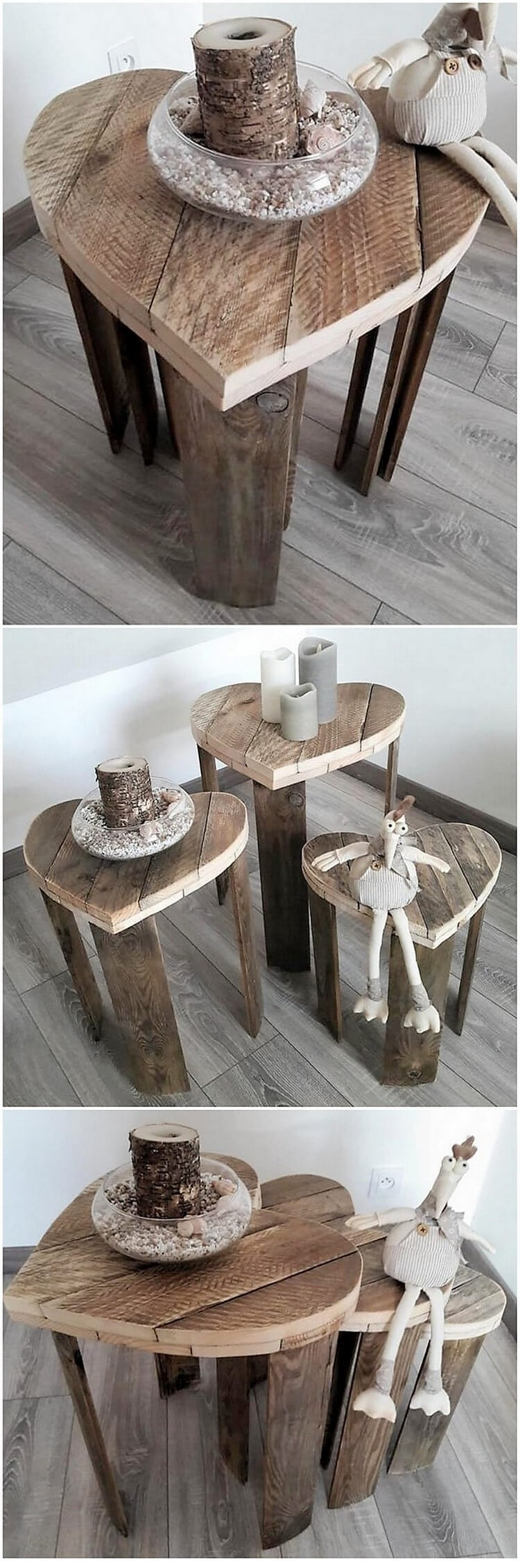 Pallet Stools and Table