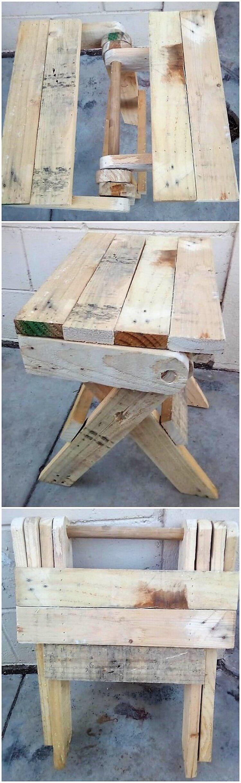 Pallet Folding Table