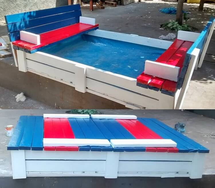 Pallet Sandbox