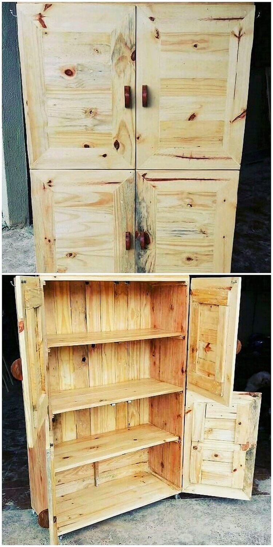 Pallet Shelving Cabinet or Closet