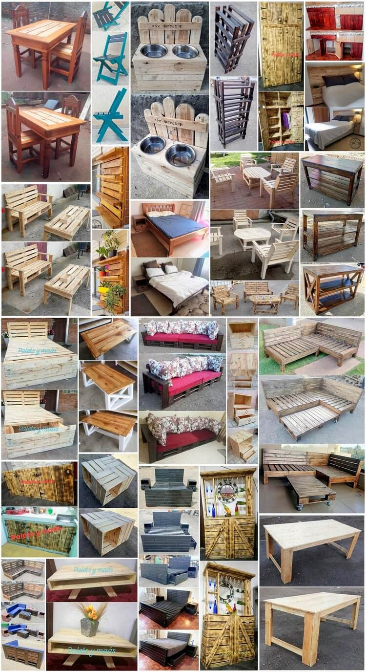 Perfect Ideas for Reusing Old Scraped Pallets