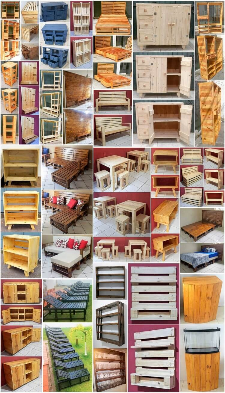 Crafting with Wood Pallets - Wondrous Pallet Creations & Projects
