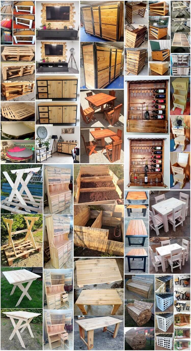 Modish DIY Wooden Pallets Recycling Tips