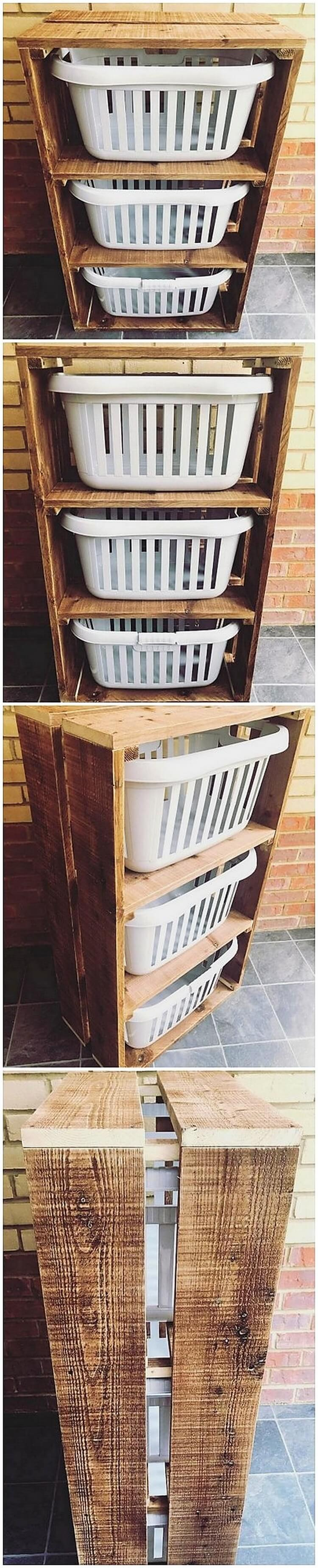 Pallet Laudry Table