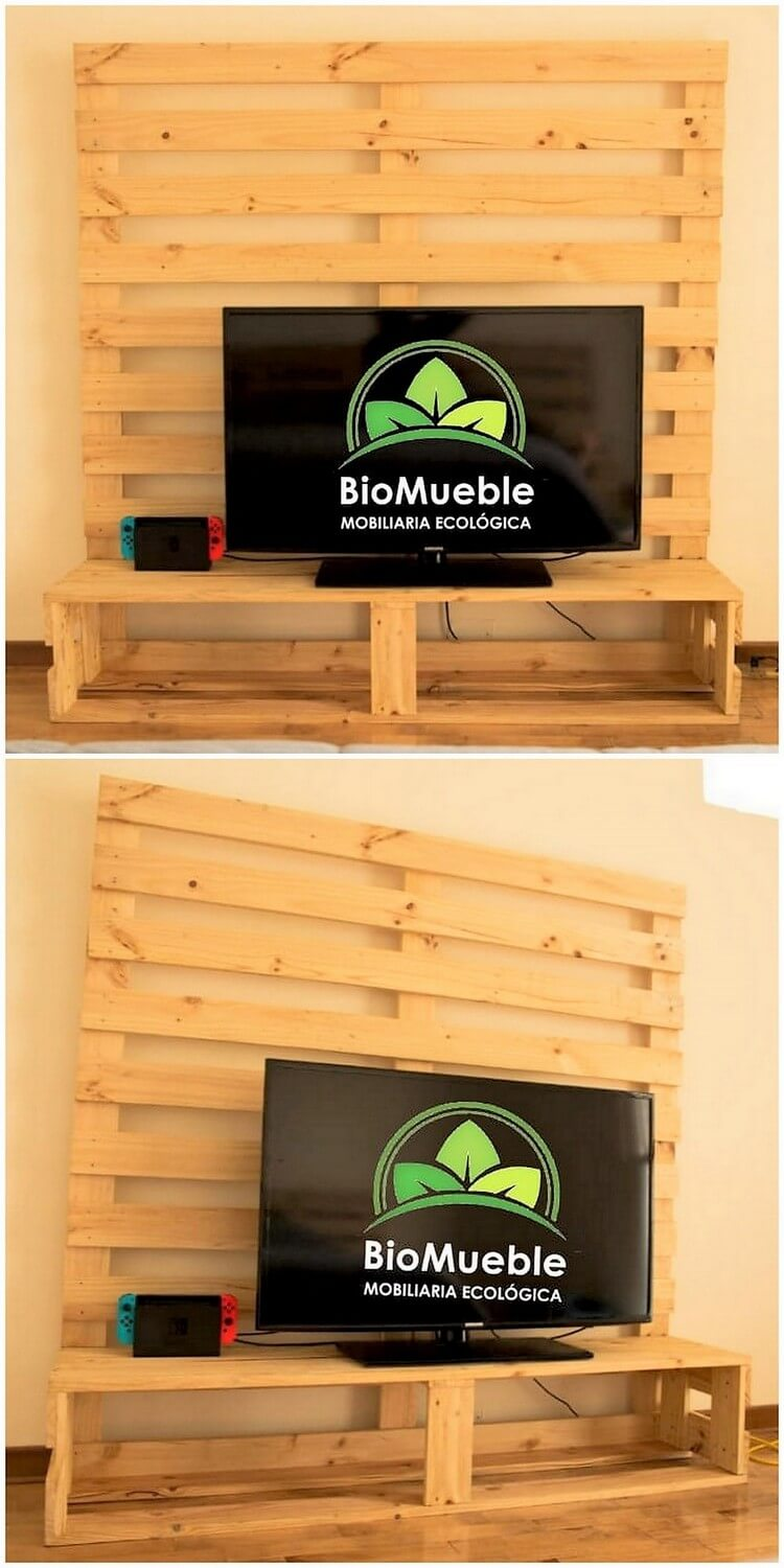 Pallet Media Table or Unit