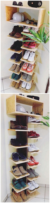 Pallet Shoe Rack