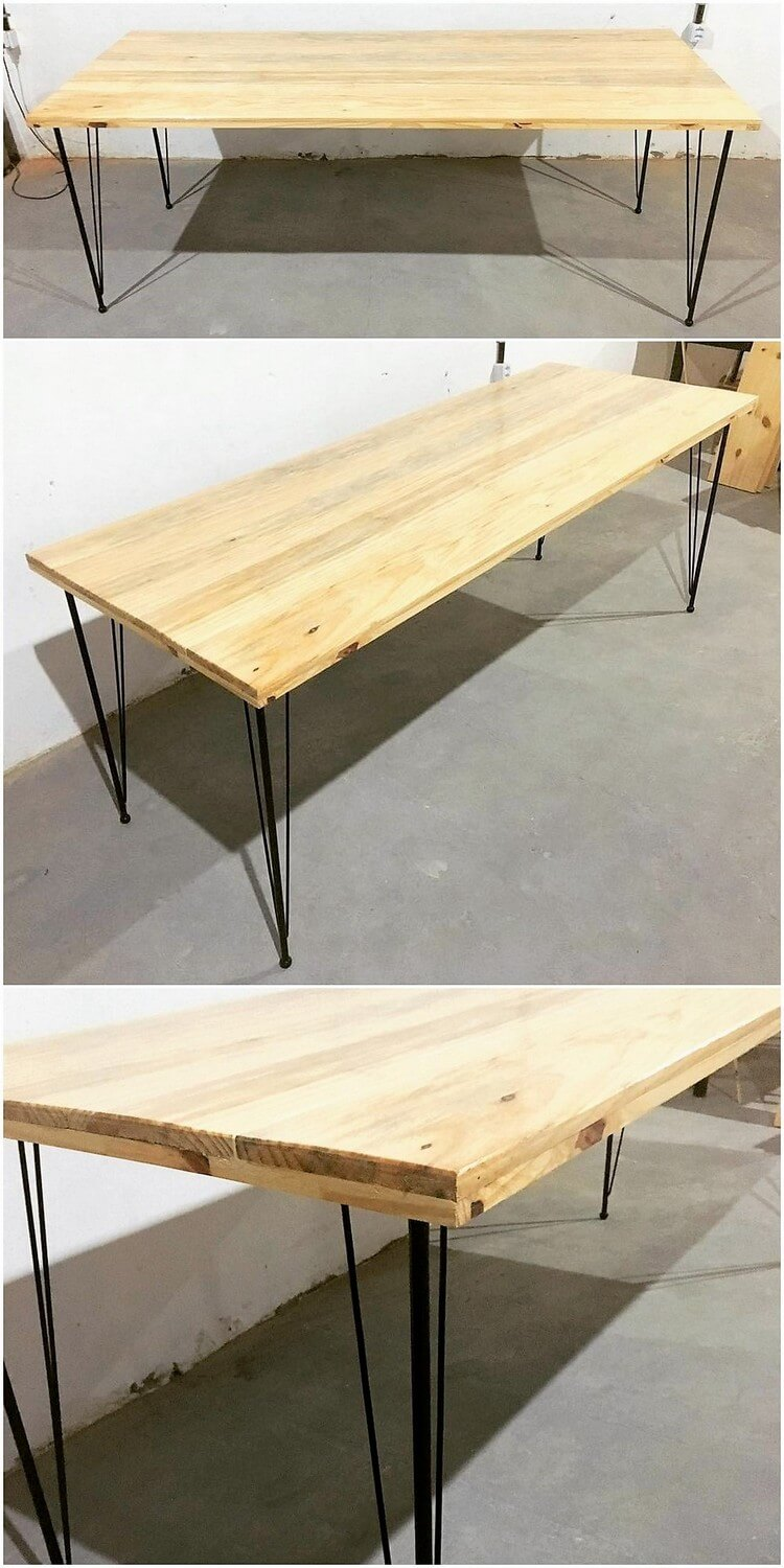 Wood Pallet Table