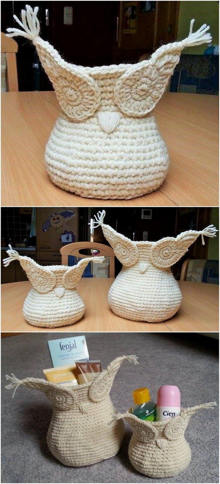 Crochet Basket Pattern (100)