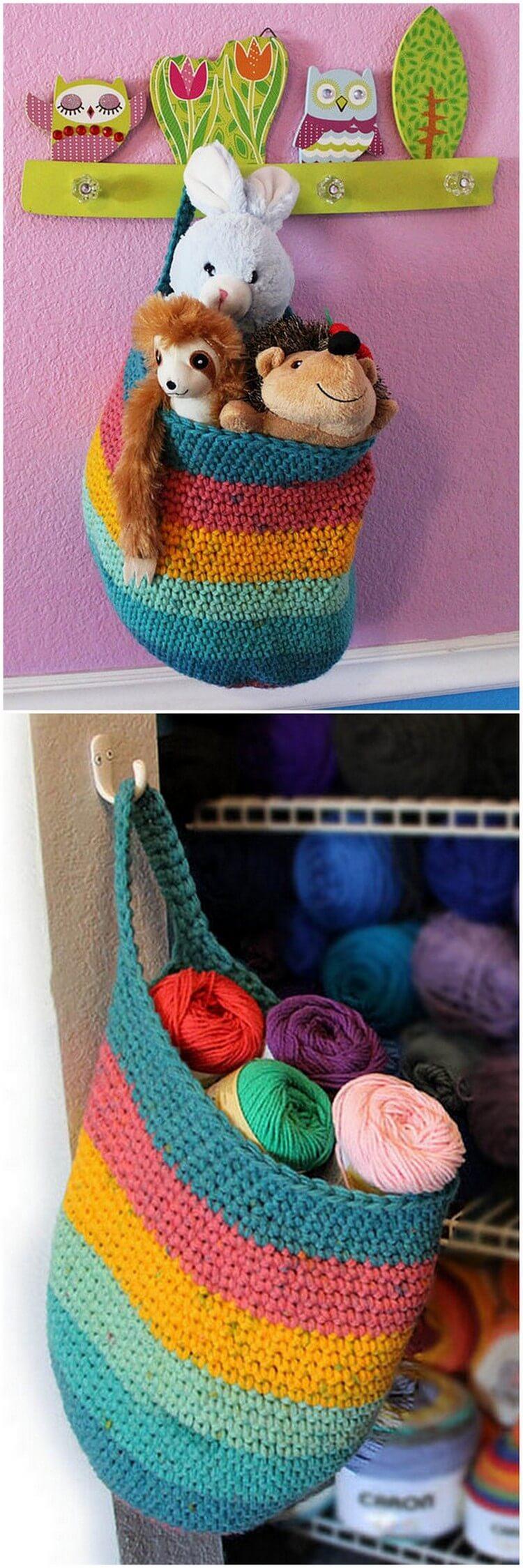 Crochet Basket Pattern (105)