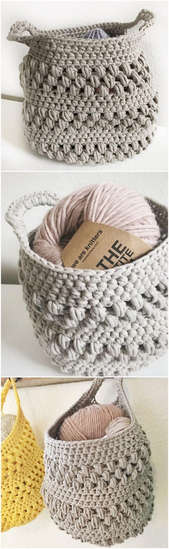 Crochet Basket Pattern (106)