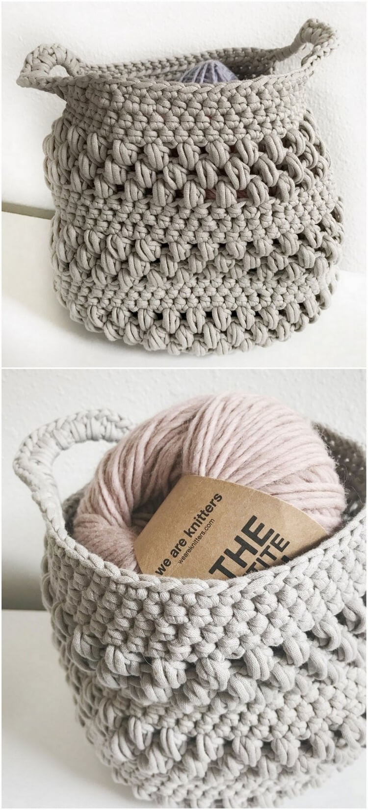 Crochet Basket Pattern (107)
