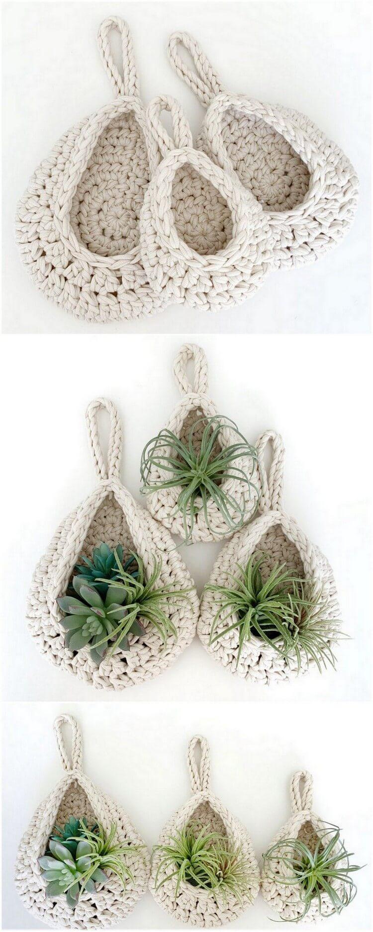 Crochet Basket Pattern (108)