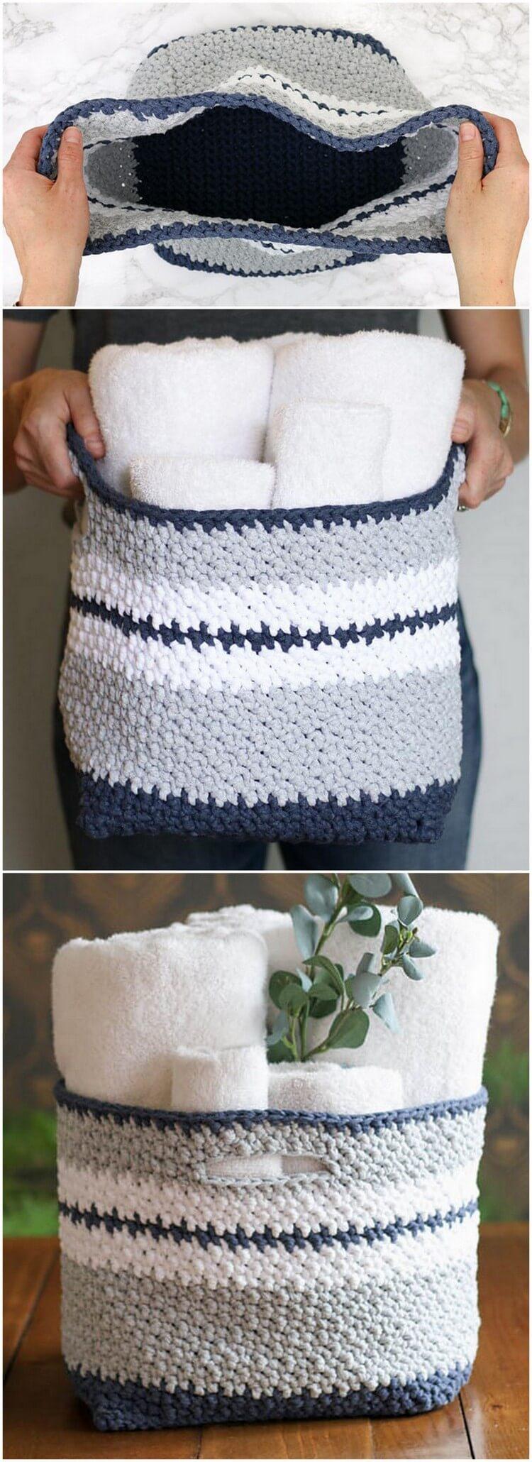 Crochet Basket Pattern (11)