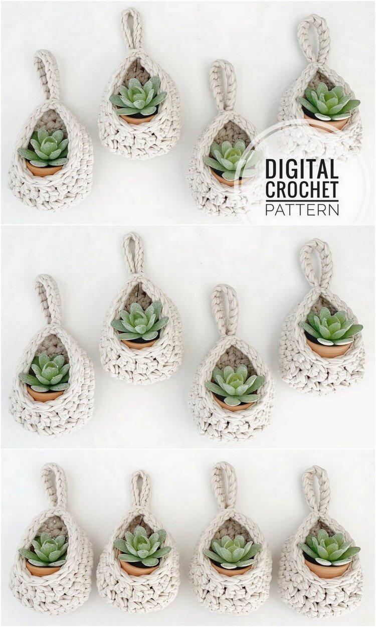 Crochet Basket Pattern (110)