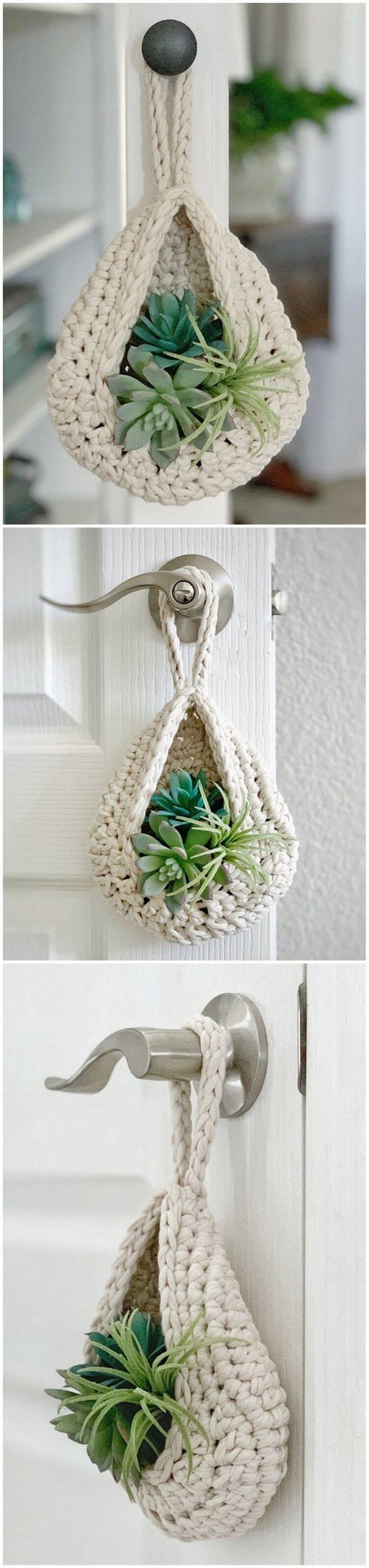 Crochet Basket Pattern (111)