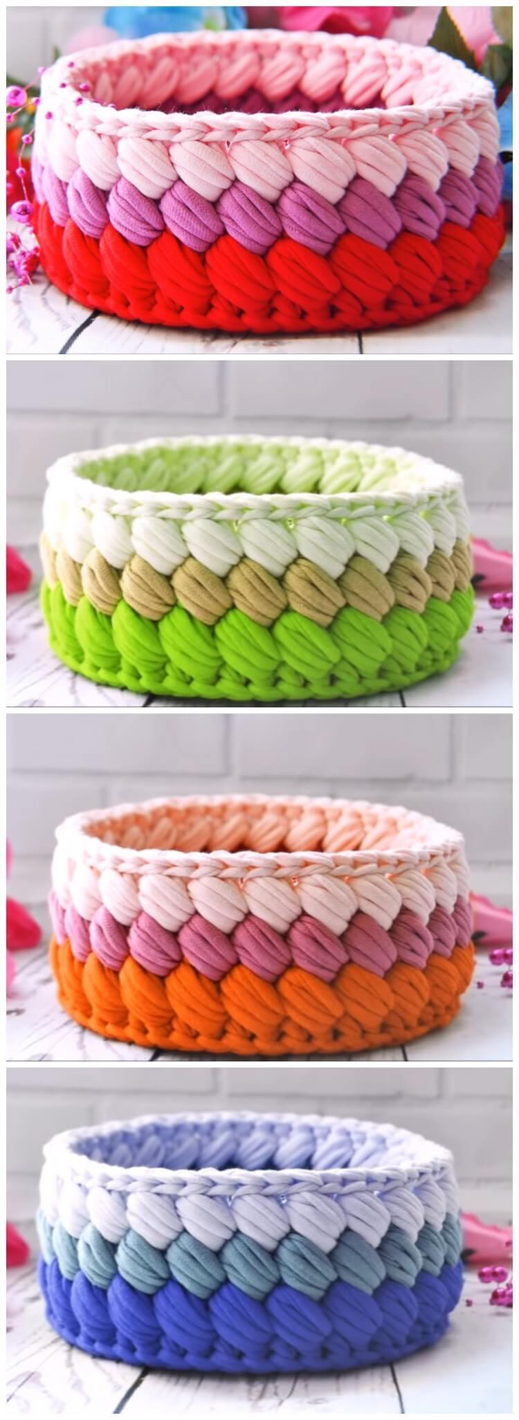 Crochet Basket Pattern (118)