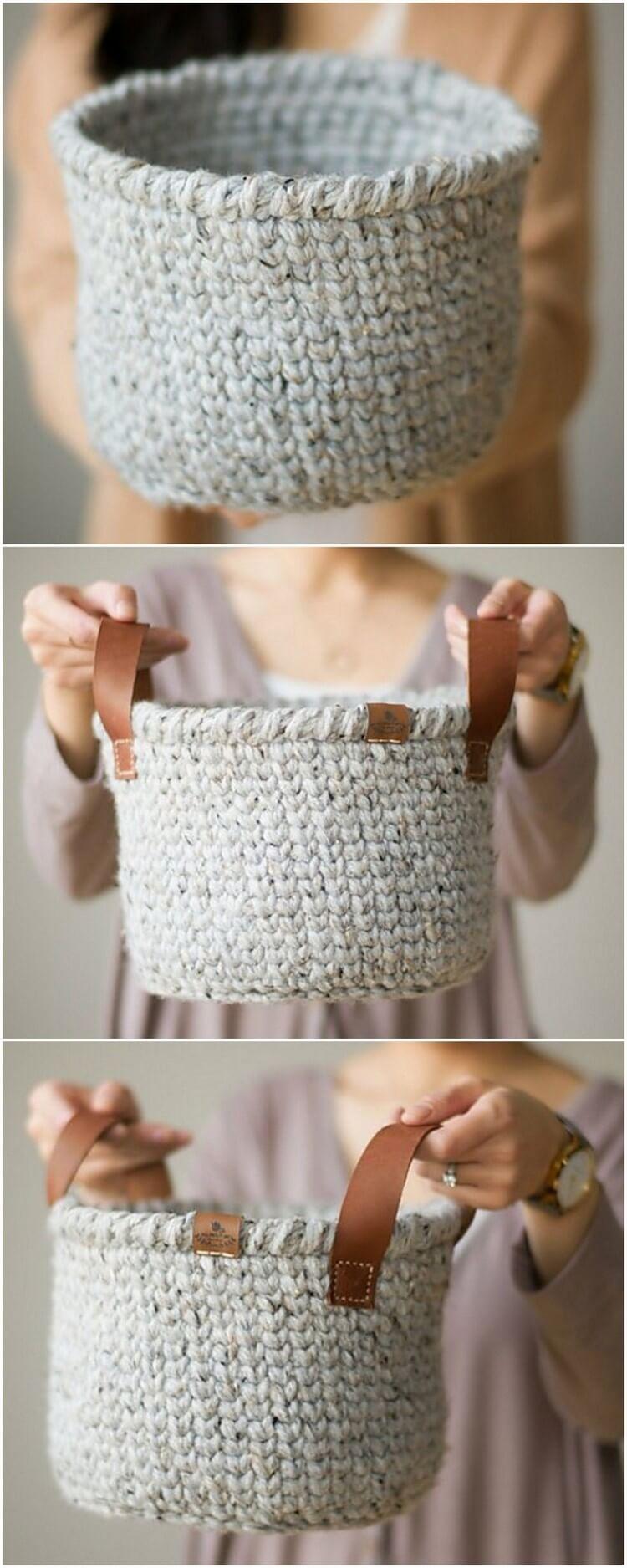 Crochet Basket Pattern (14)