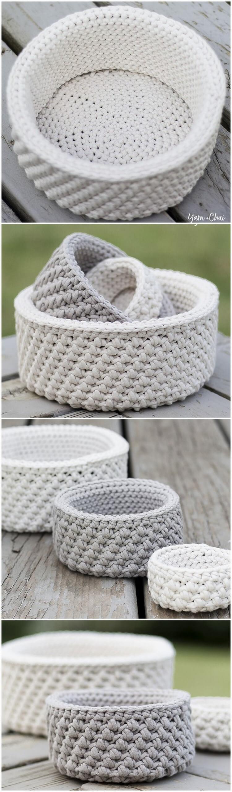 Crochet Basket Pattern (19)