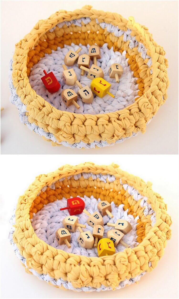 Crochet Basket Pattern (2)