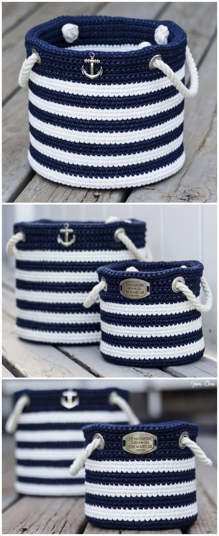 Crochet Basket Pattern (27)