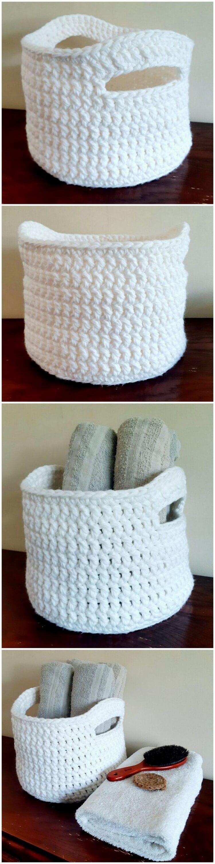 Crochet Basket Pattern (31)