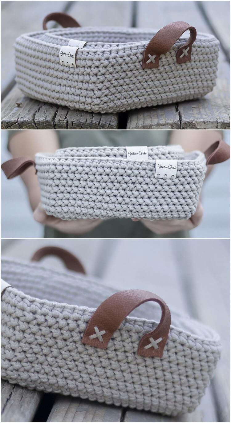 Crochet Basket Pattern (32)