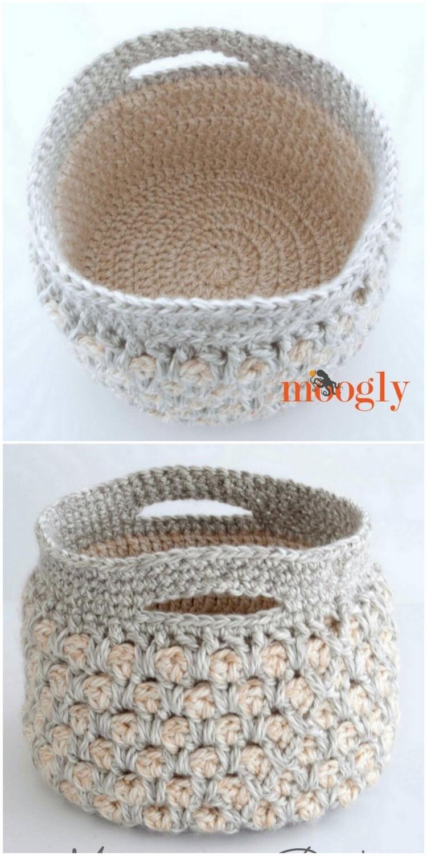 Crochet Basket Pattern (53)