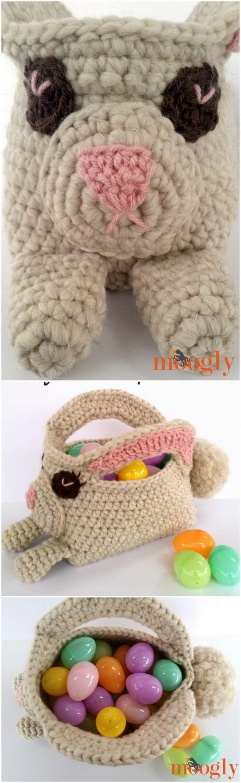 Crochet Basket Pattern (56)