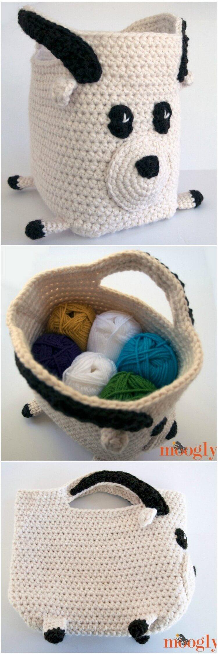 Crochet Basket Pattern (59)
