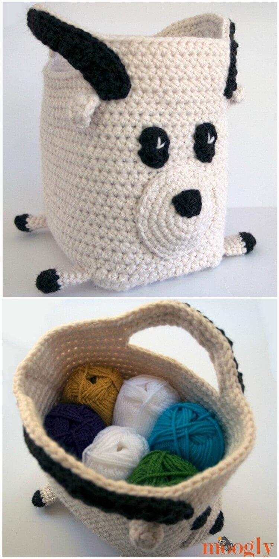 Crochet Basket Pattern (60)