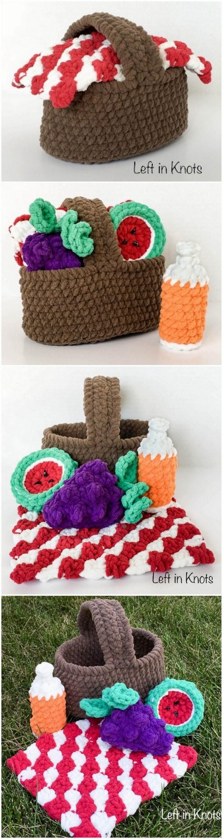 Crochet Basket Pattern (63)