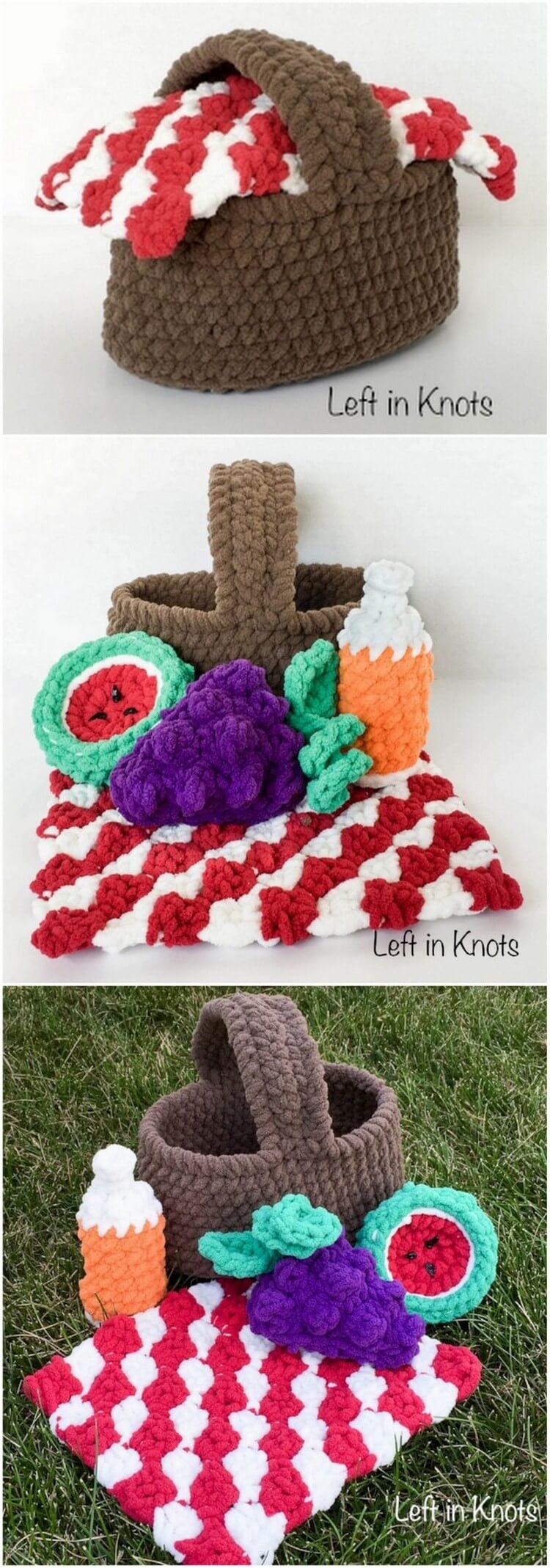 Crochet Basket Pattern (64)