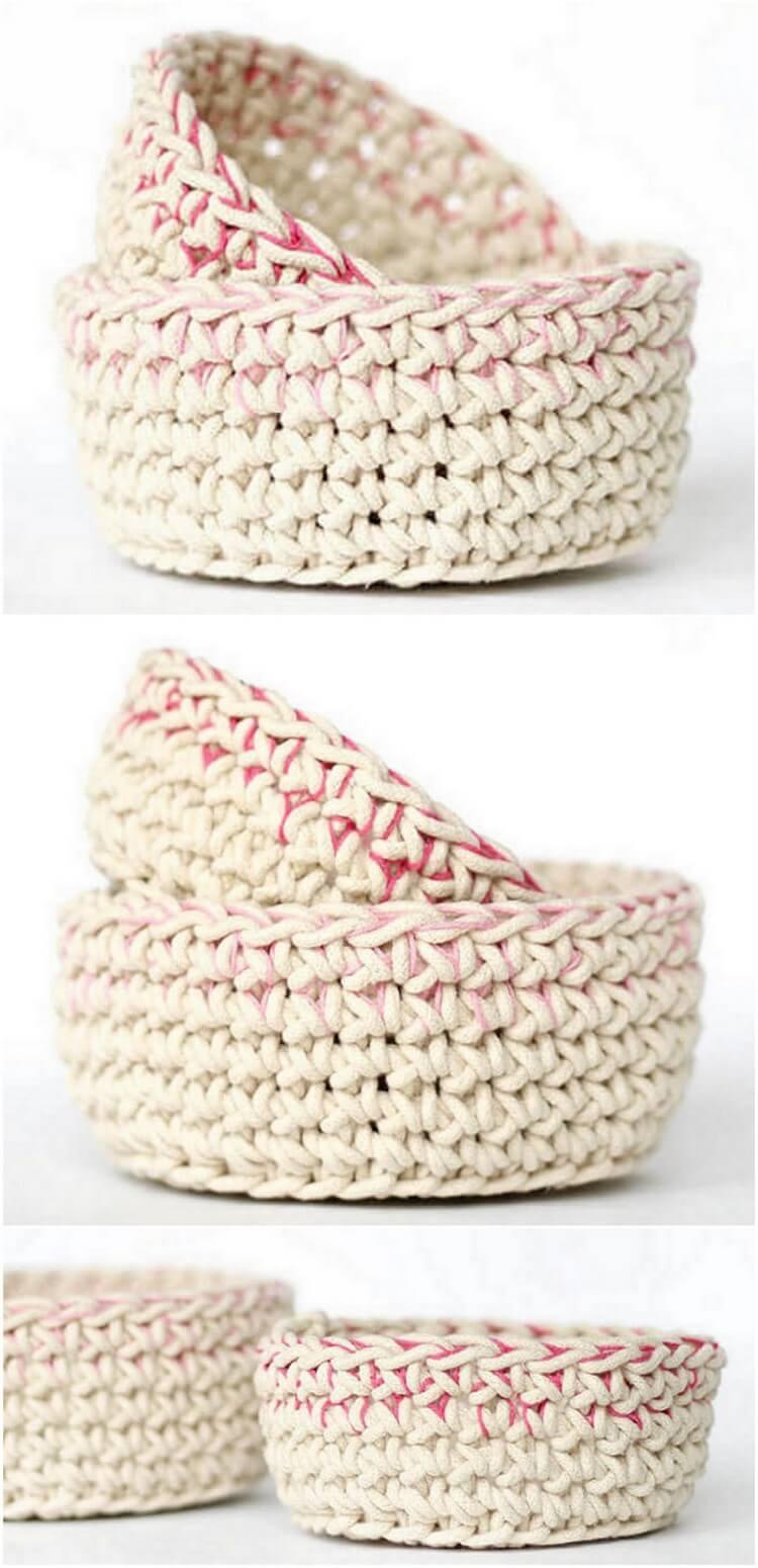 Crochet Basket Pattern (76)