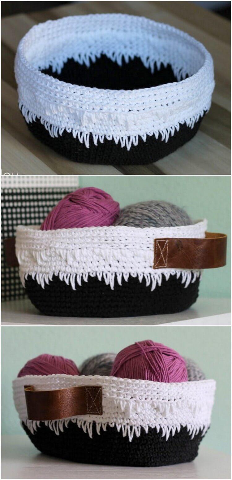 Crochet Basket Pattern (77)