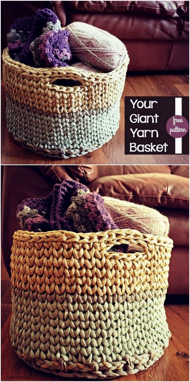 Crochet Basket Pattern (78)