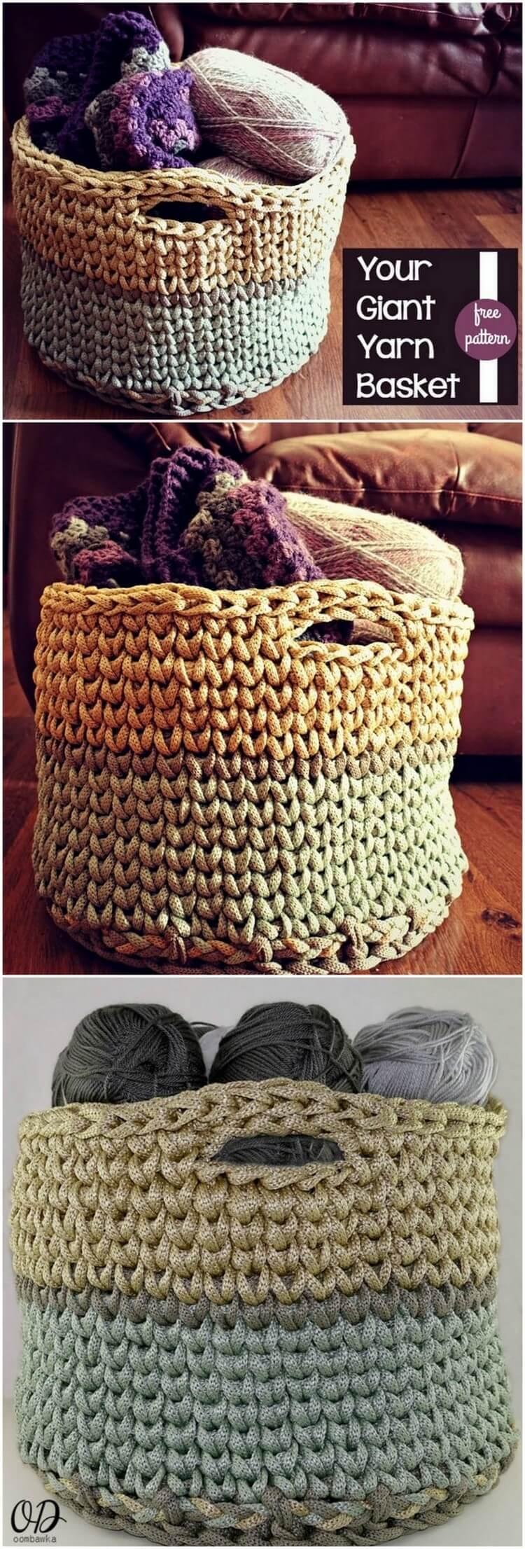 Crochet Basket Pattern (79)
